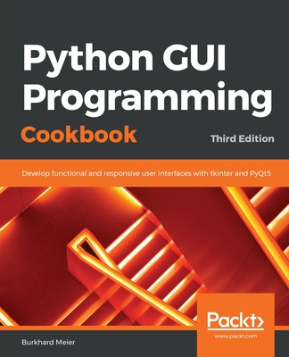 Python GUI Programming Cookbook 3/e-cover