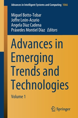Advances in Emerging Trends and Technologies: Volume 1-cover