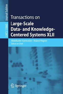 Transactions on Large-Scale Data- And Knowledge-Centered Systems XLII-cover