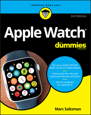 Apple Watch For Dummies, 3rd Edition-cover