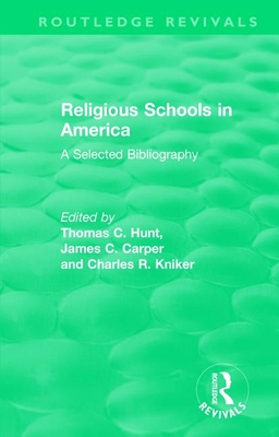 Religious Schools in America (1986): A Selected Bibliography-cover