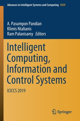Intelligent Computing, Information and Control Systems: Iciccs 2019-cover