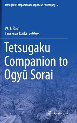 Tetsugaku Companion to Ogyu Sorai-cover