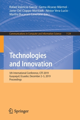 Technologies and Innovation: 5th International Conference, Citi 2019, Guayaquil, Ecuador, December 2-5, 2019, Proceedings-cover