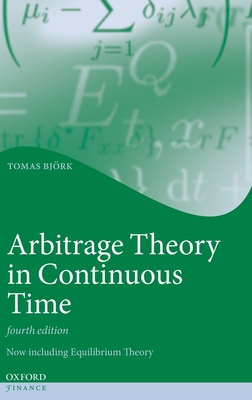 Arbitrage Theory in Continuous Time (Hardcover)-cover