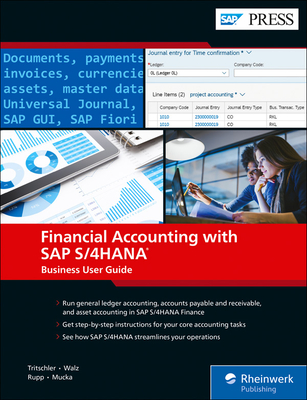Financial Accounting with SAP S/4hana: Business User Guide-cover