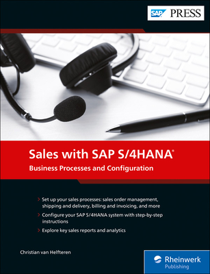 Sales with SAP S/4hana: Business Processes and Configuration-cover