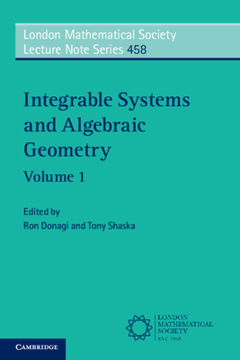 Integrable Systems and Algebraic Geometry: Volume 1-cover