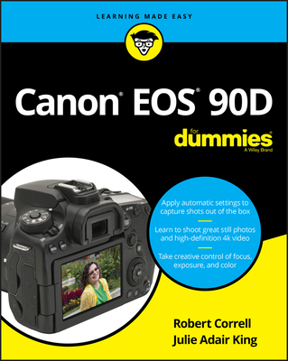 Canon EOS 90d for Dummies-cover