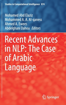 Recent Advances in Nlp: The Case of Arabic Language-cover