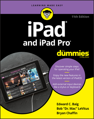 iPad and iPad Pro for Dummies-cover
