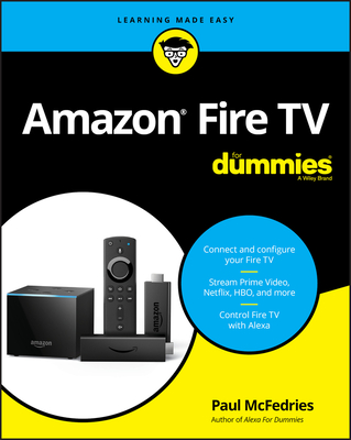 Amazon Fire TV for Dummies-cover