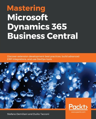 Mastering Microsoft Dynamics 365 Business Central-cover
