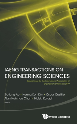 IAENG Transactions on Engineering Sciences: Special Issue for the International Association of Engineers Conferences 2019-cover