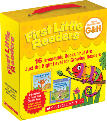 First Little Readers: Guided Reading Levels G & H (Parent Pack): 16 Irresistible Books That Are Just the Right Level for Growing Readers-cover