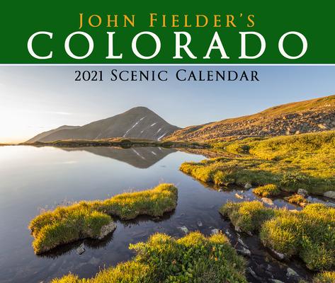 John Fielder's 2021 Scenic Wall Calendar-cover