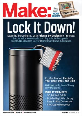 Make: Volume 72: Private by Design-cover