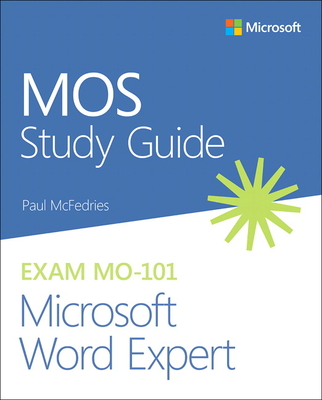 Mos Study Guide for Microsoft Word Expert Exam Mo-101-cover