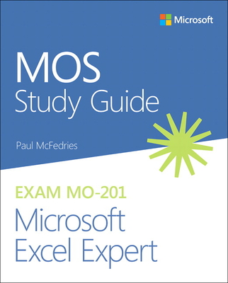 Mos Study Guide for Microsoft Excel Expert Exam Mo-201-cover
