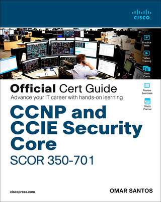 CCNP and CCIE Security Core Scor 350-701 Official Cert Guide( by dhl)-cover