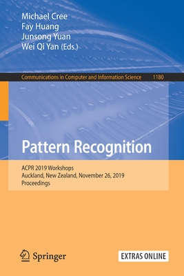 Pattern Recognition: Acpr 2019 Workshops, Auckland, New Zealand, November 26, 2019, Proceedings-cover