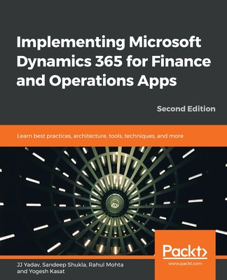 Implementing Microsoft Dynamics 365 for Finance and Operations Apps - Second Edition-cover