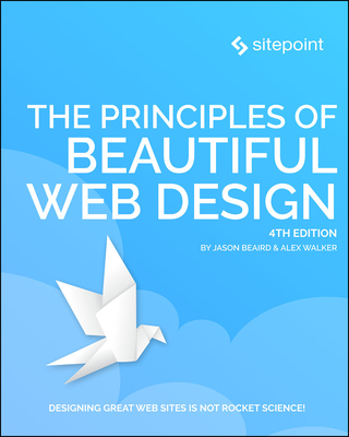 The Principles of Beautiful Web Design (English) 4th -cover
