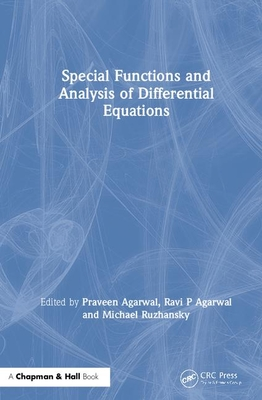 Special Functions and Analysis of Differential Equations-cover