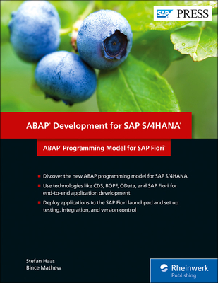 ABAP Programming Model for SAP Fiori: ABAP Development for SAP S/4hana-cover
