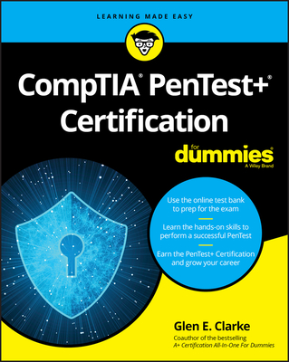 Comptia Pentest+ Certification for Dummies-cover