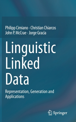 Linguistic Linked Data: Representation, Generation and Applications-cover
