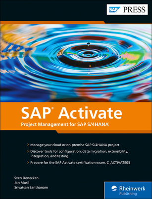 SAP Activate: Project Management for SAP S/4hana-cover
