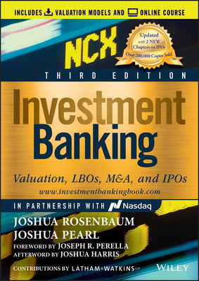 Investment Banking: Valuation, Lbos, M&a, and IPOs, 3/e (Hardcover)-cover