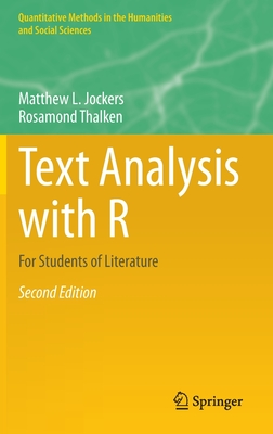 Text Analysis with R: For Students of Literature-cover