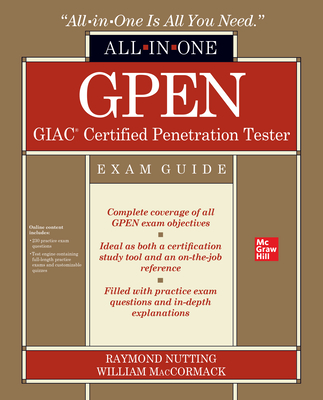 GPEN GIAC Certified Penetration Tester All-in-One Exam Guide (English) 1st 版本 -cover