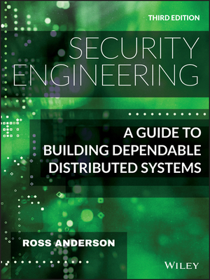 Security Engineering: A Guide to Building Dependable Distributed Systems 3/e-cover