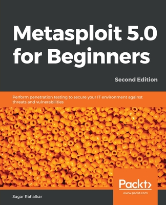 Metasploit 5.0 for Beginners, Second Edition-cover