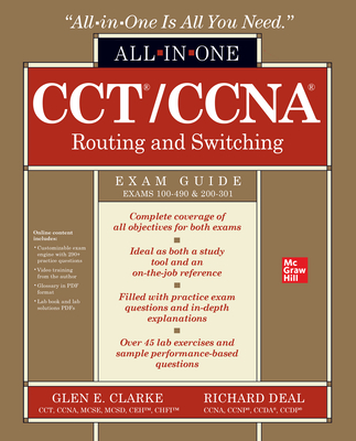 Cct/CCNA Routing and Switching All-In-One Exam Guide (Exams 100-490 & 200-301)-cover
