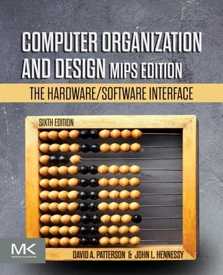 Computer Organization and Design MIPS Edition: The Hardware/Software Interface, 6/e-cover