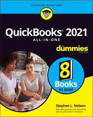 QuickBooks 2021 All-In-One for Dummies-cover