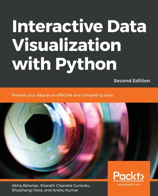 Interactive Data Visualization with Python : Present your data as an effective and compelling story, 2/e (Paperback)-cover