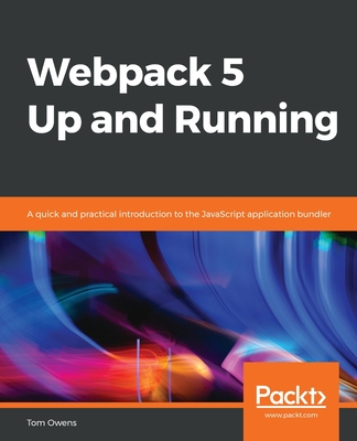 Webpack 5 Up and Running-cover