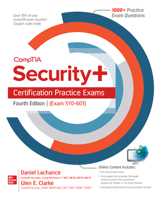 Comptia Security+ Certification Practice Exams, Fourth Edition (Exam Sy0-601)-cover