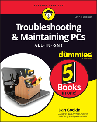 Troubleshooting & Maintaining PCs All-In-One for Dummies-cover