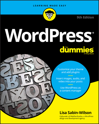 Wordpress for Dummies 9/e-cover