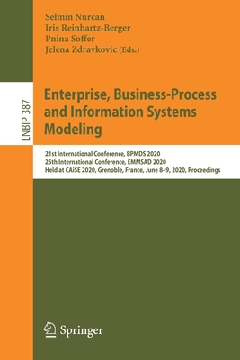 Enterprise, Business-Process and Information Systems Modeling: 21st International Conference, Bpmds 2020, 25th International Conference, Emmsad 2020,-cover