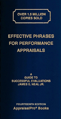 Effective Phrases for Performance Appraisals: A Guide to Successful Evaluations [With Book(s)]-cover