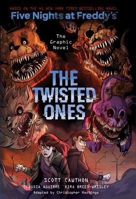 The Twisted Ones (Five Nights at Freddy's Graphic Novel #2), 2-cover