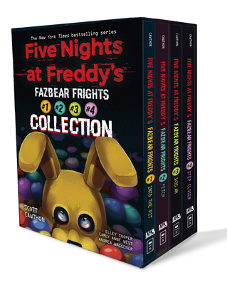 Five Nights at Freddy's Fazbear Frights Four Book Boxed Set-cover