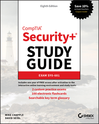 Comptia Security+ Study Guide: Exam Sy0-601-cover